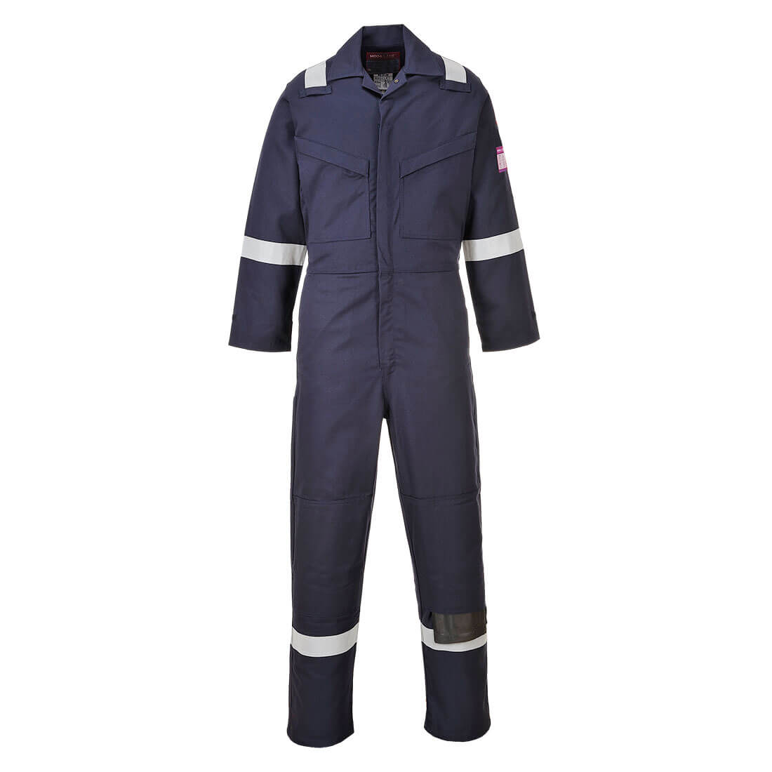 Image of Modaflame Mens Flame Resistant Overall Navy 2XL