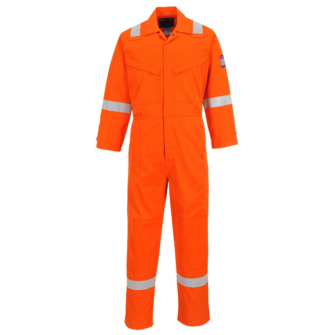 Image of Modaflame Mens Flame Resistant Overall Orange 3XL