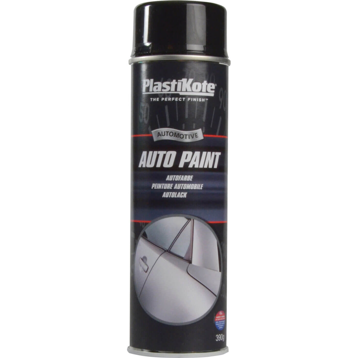 Image of Plasti-Kote Auto Paint Gloss Black 500ml