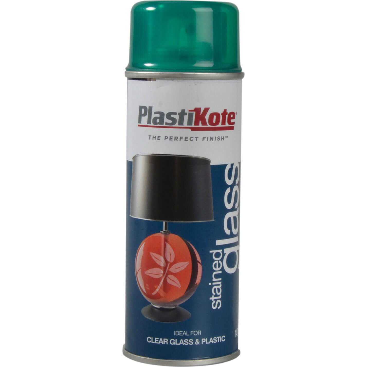 Plastikote Stained Glass Aerosol Spray Paint Green 200ml