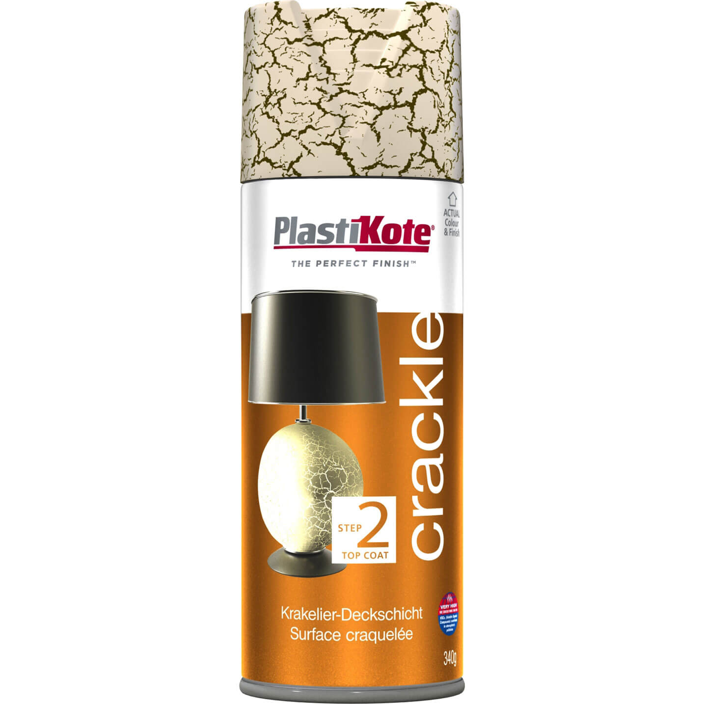 plastikote crackle touch aerosol spray paint. Black Bedroom Furniture Sets. Home Design Ideas