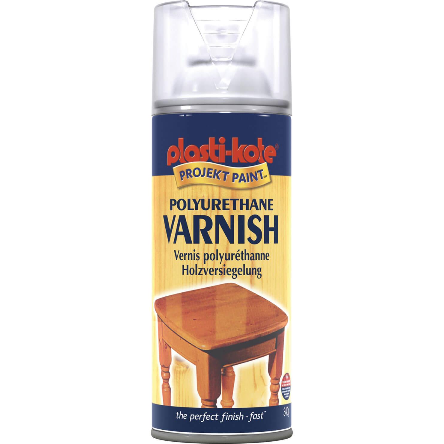 of plastikote fast dry enamel aerosol spray paint clear satin 400ml. Black Bedroom Furniture Sets. Home Design Ideas