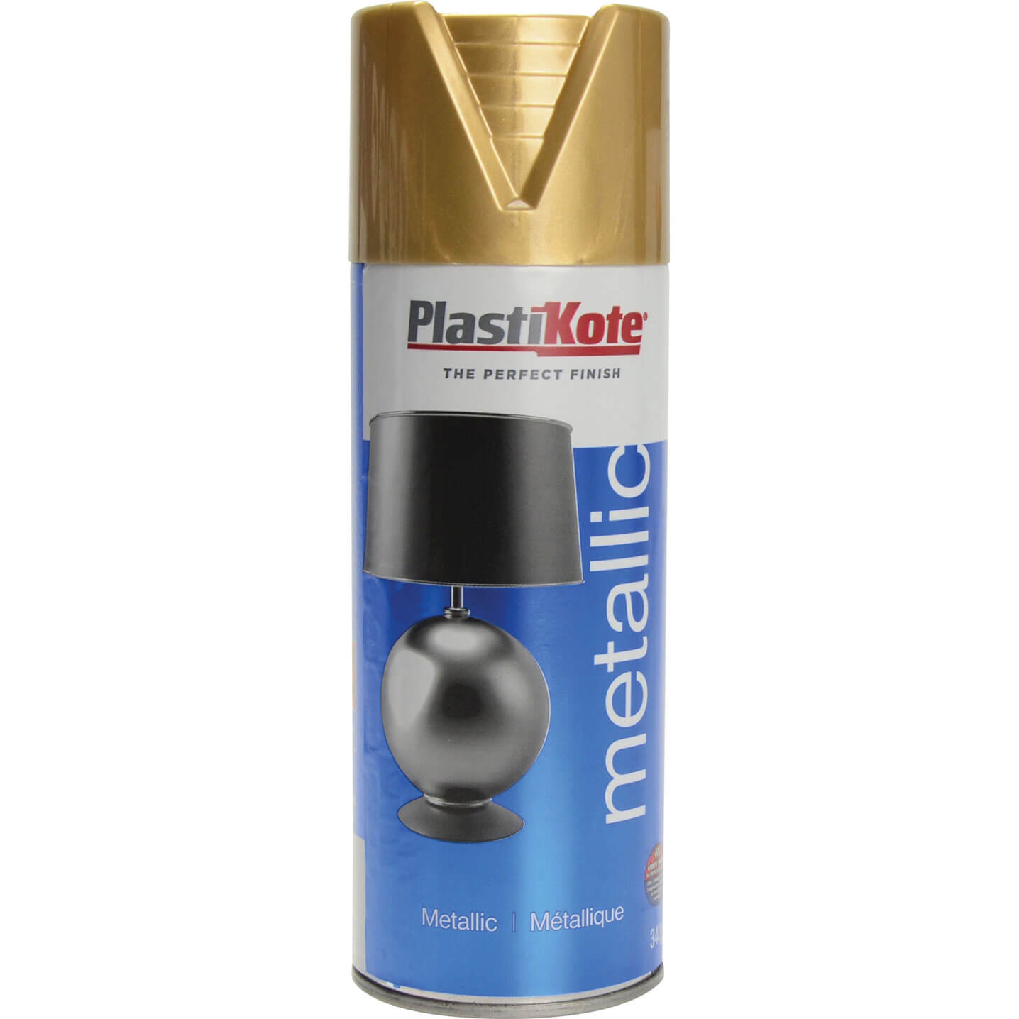 Plastikote Metallic Aerosol Spray Paint Bronze 400ml