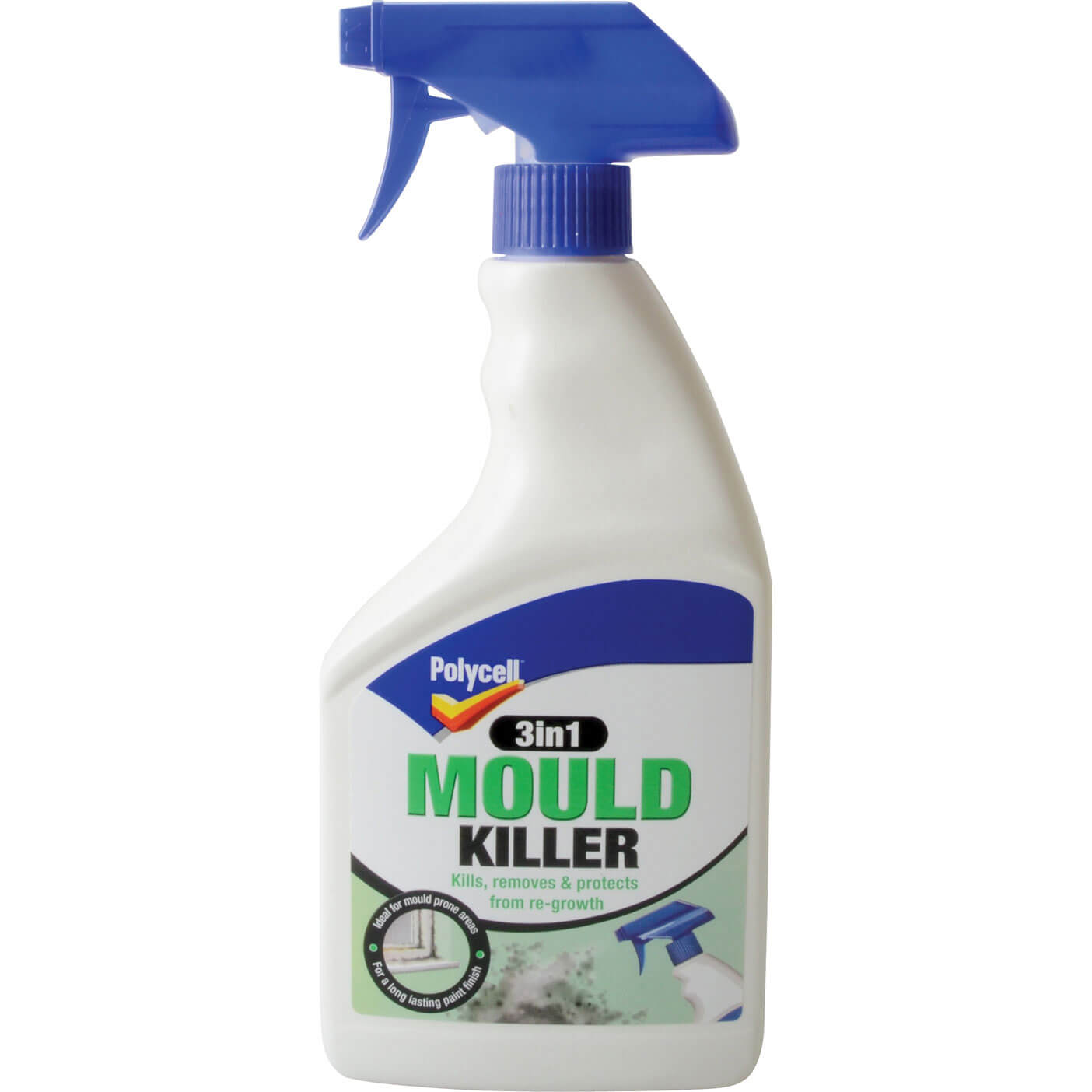 Image of Polycell 3 in 1 Mould Killer Spray 500ml