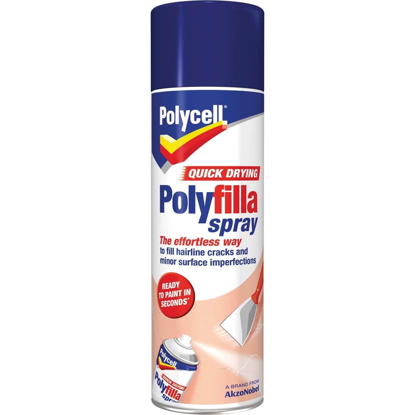 Polycell Quick Drying Polyfilla Spray 300ml