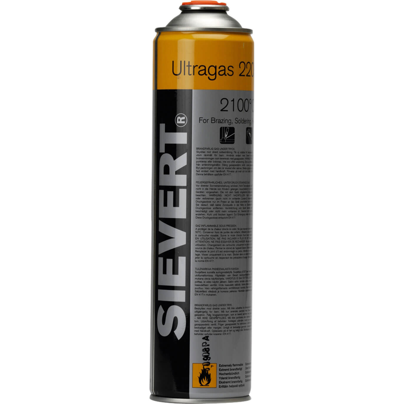 Image of Sievert 2205 Ultragas Cartridge 210g