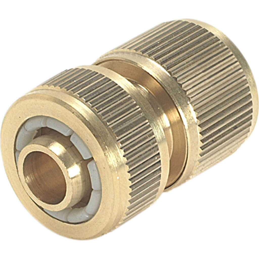 Image of Rehau Brass Hose Pipe Connector 12.5mm