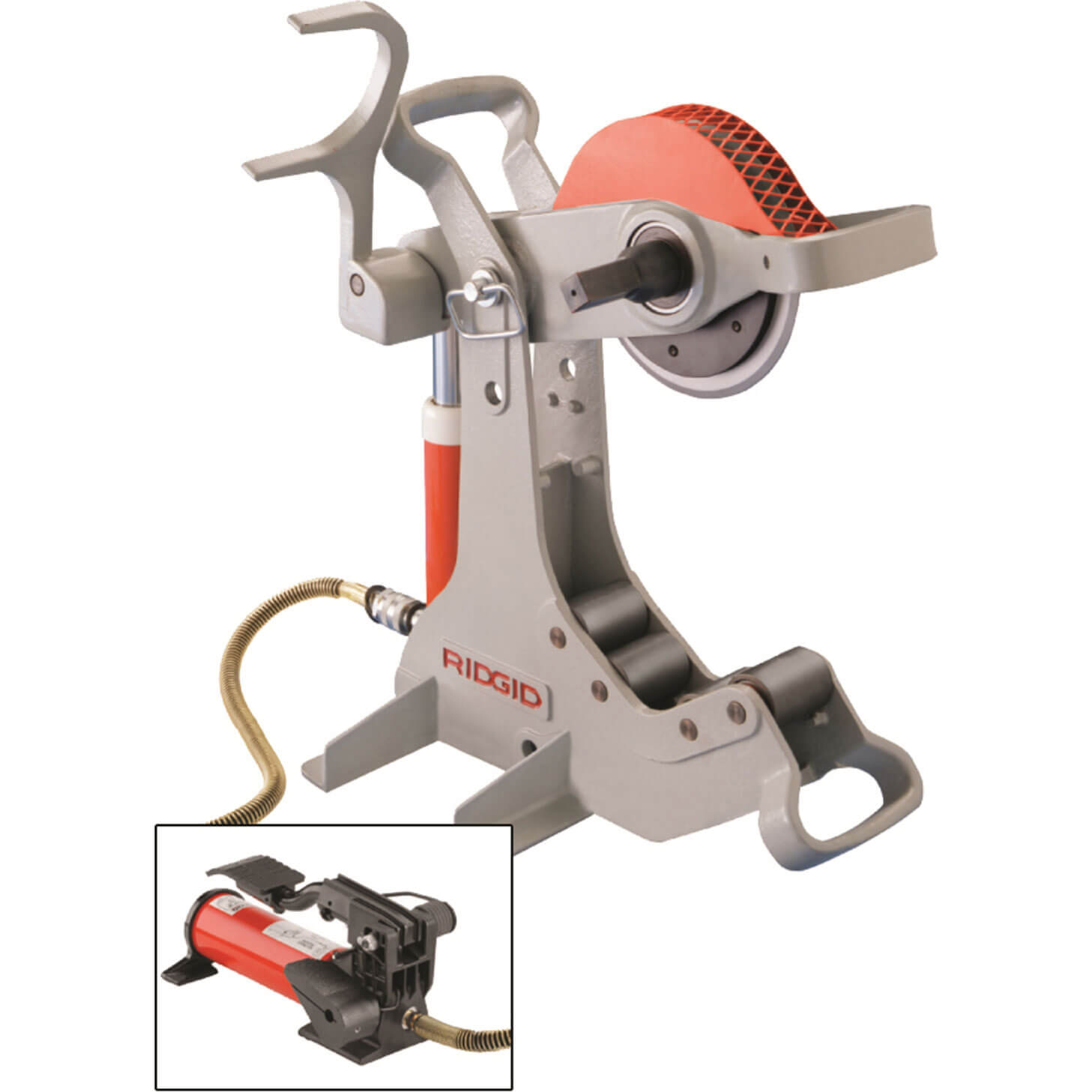 Image of Ridgid 258 Power Pipe Cutter & No.700 Powerdrive 110v
