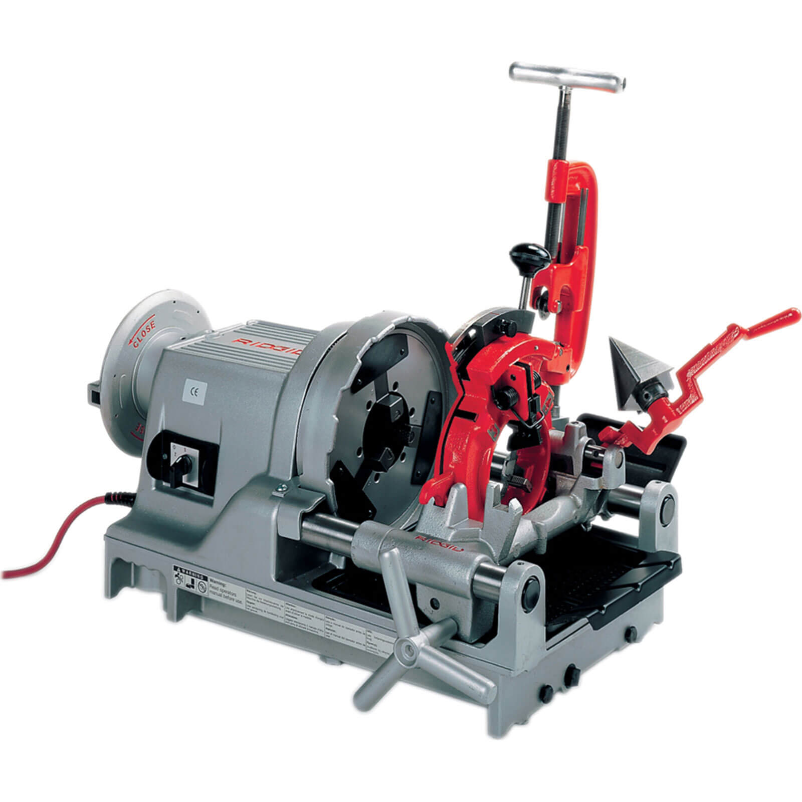 Image of Ridgid 1233 Pipe Threading Machine 110v