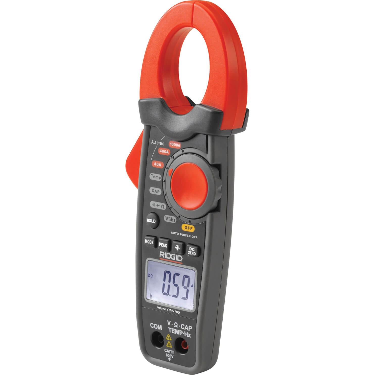 Ridgid CM 100 Micro Clamp Meter