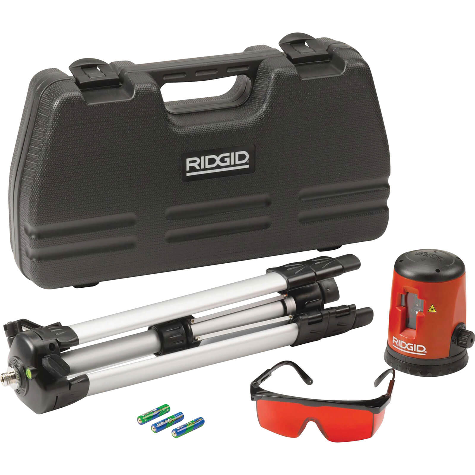 Ridgid CL100 Micro Self Levelling Cross Line Laser Level