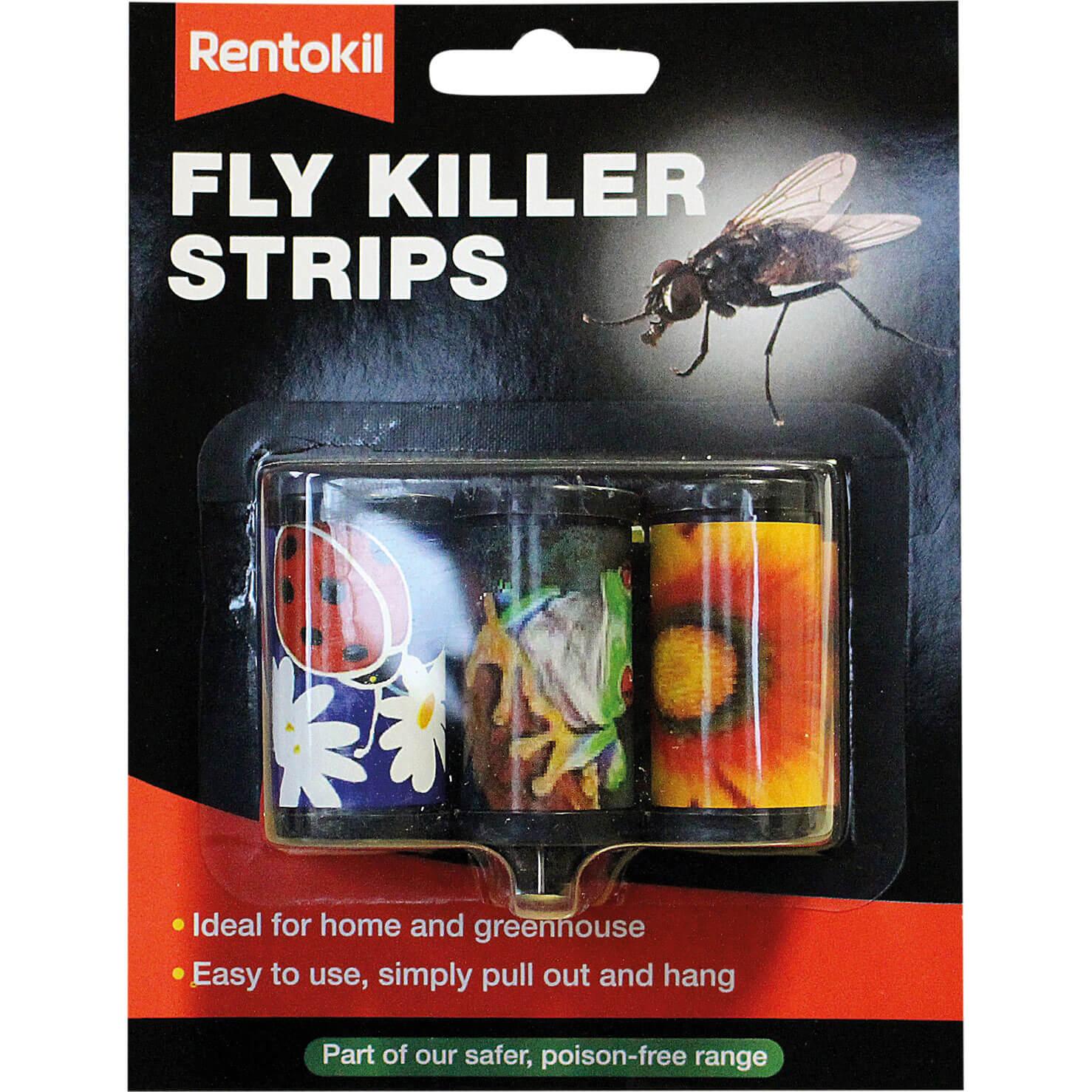 Image of Rentokil Fly Killer Strips Pack of 3