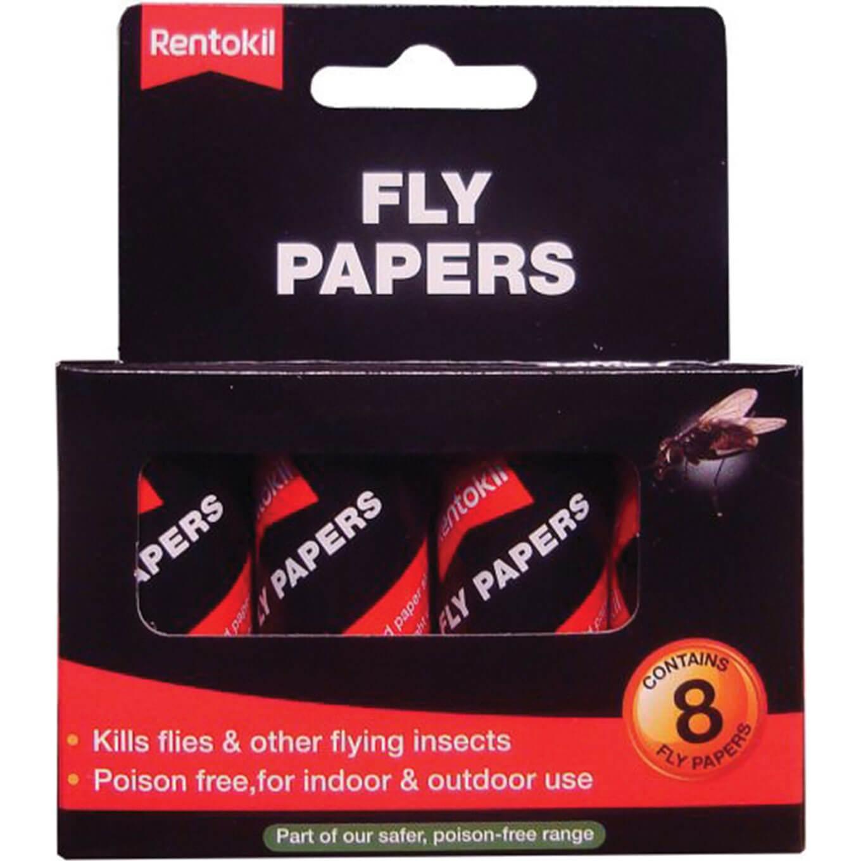 Image of Rentokil Flypapers Pack of 8