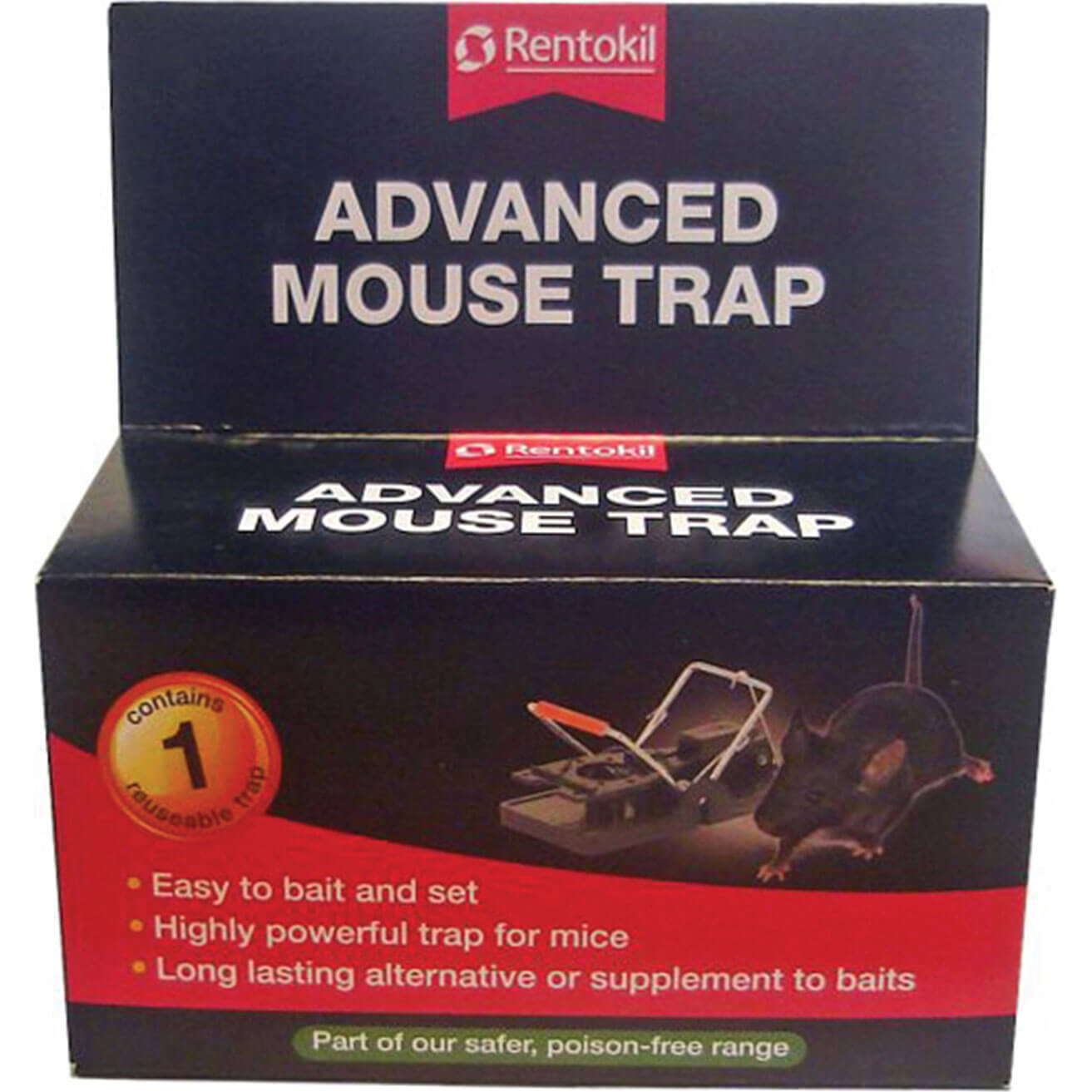 Image of Rentokil Advanced Mouse Trap Single