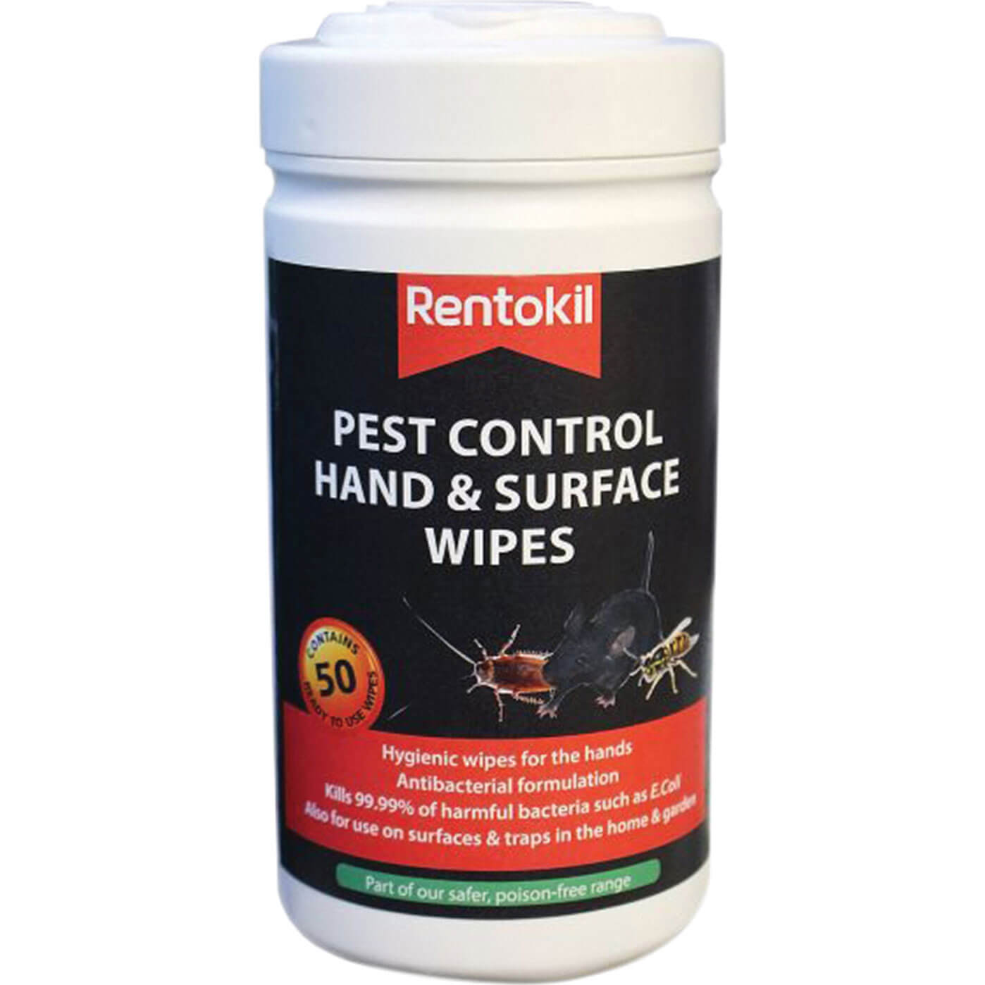 Image of Rentokil Pest Control Hand and Surface Wipes