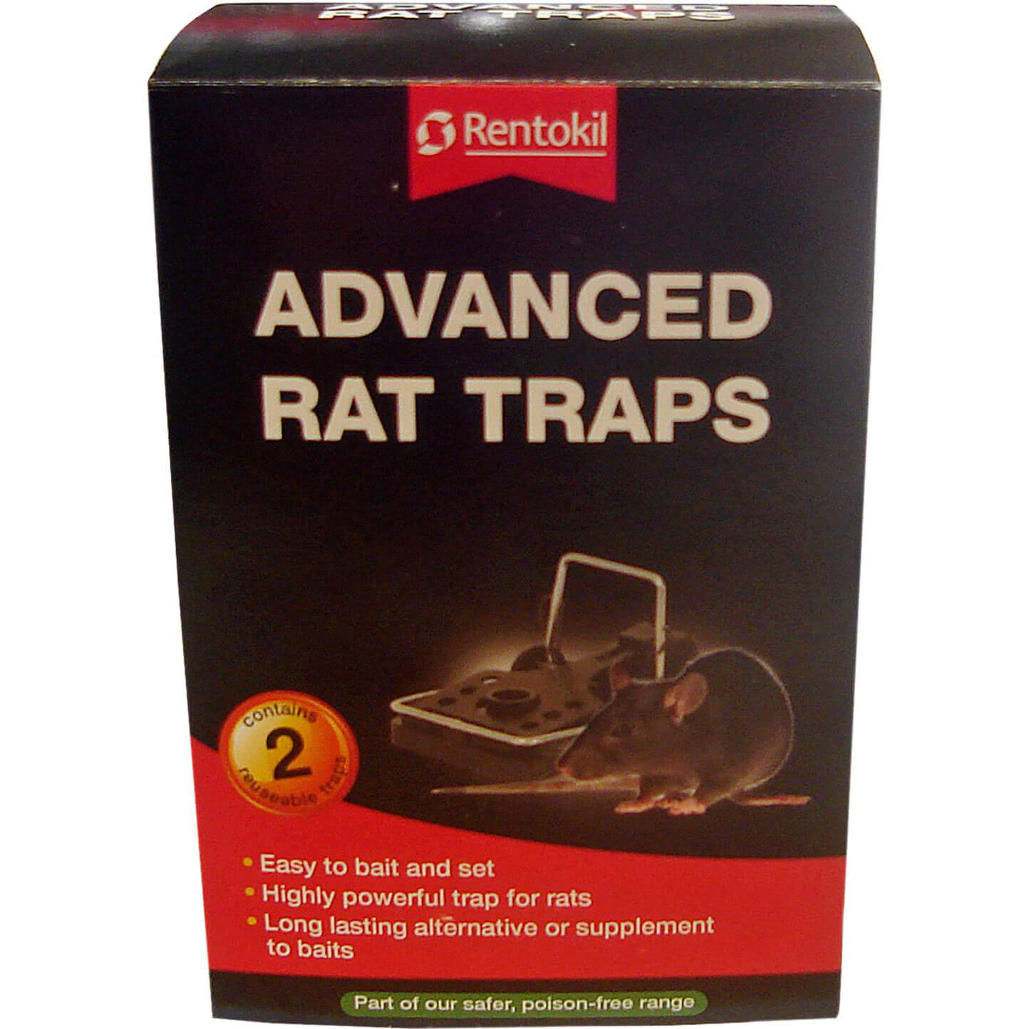 Image of Rentokil Advanced Rat Traps Pack of 2