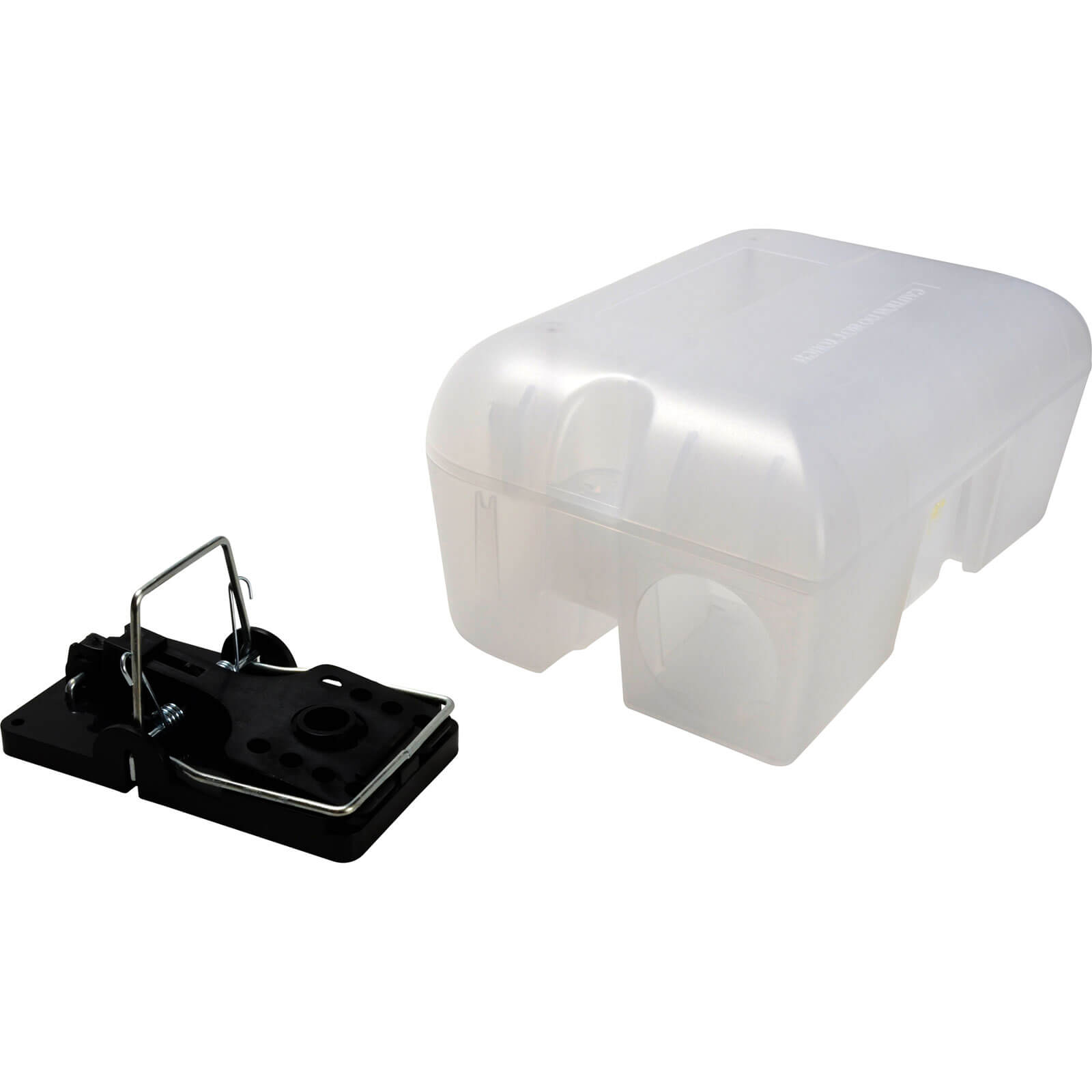 Rentokil Enclosed Rat Trap in Lockable Box