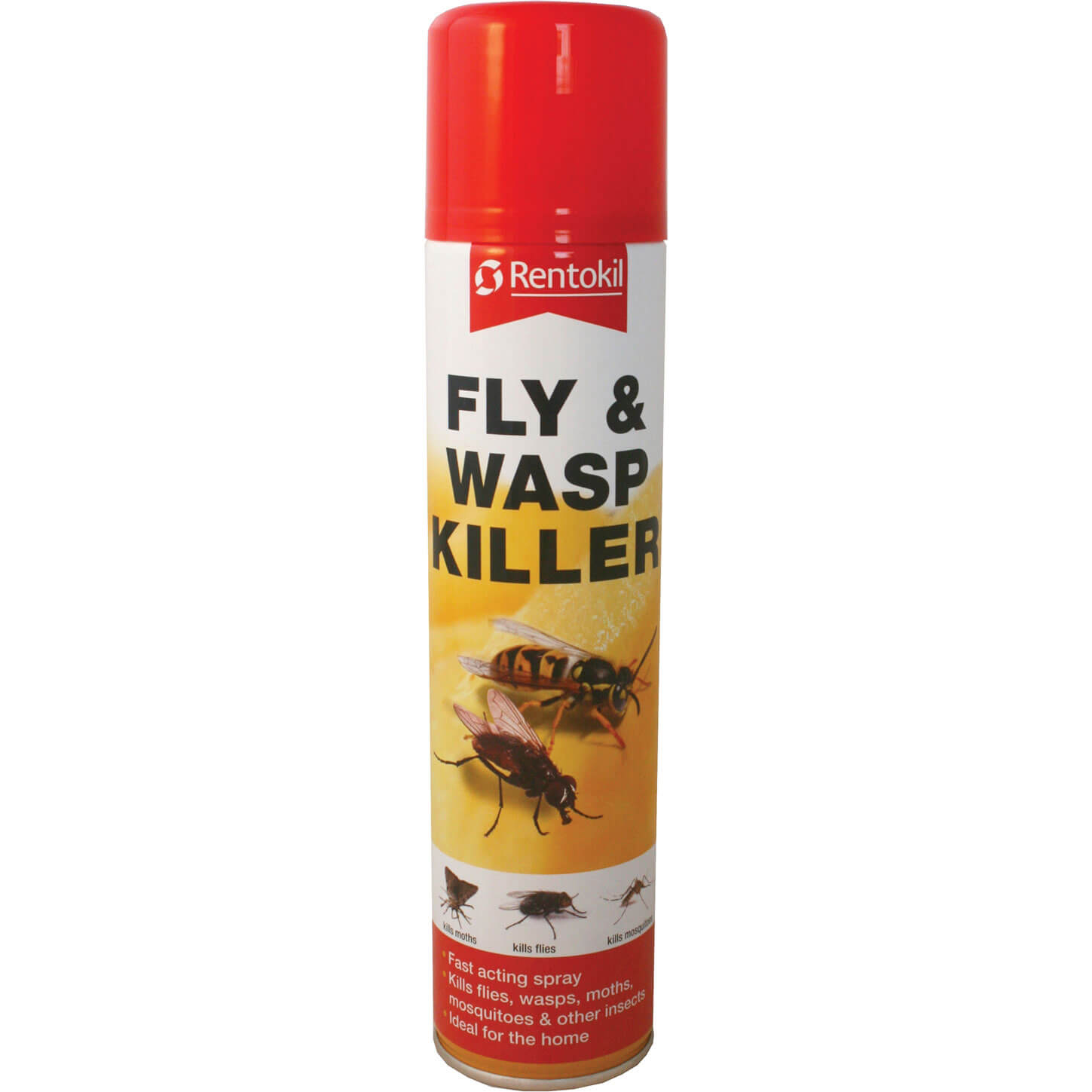 Image of Rentokil Fly and Wasp Killer Aerosol 300ml