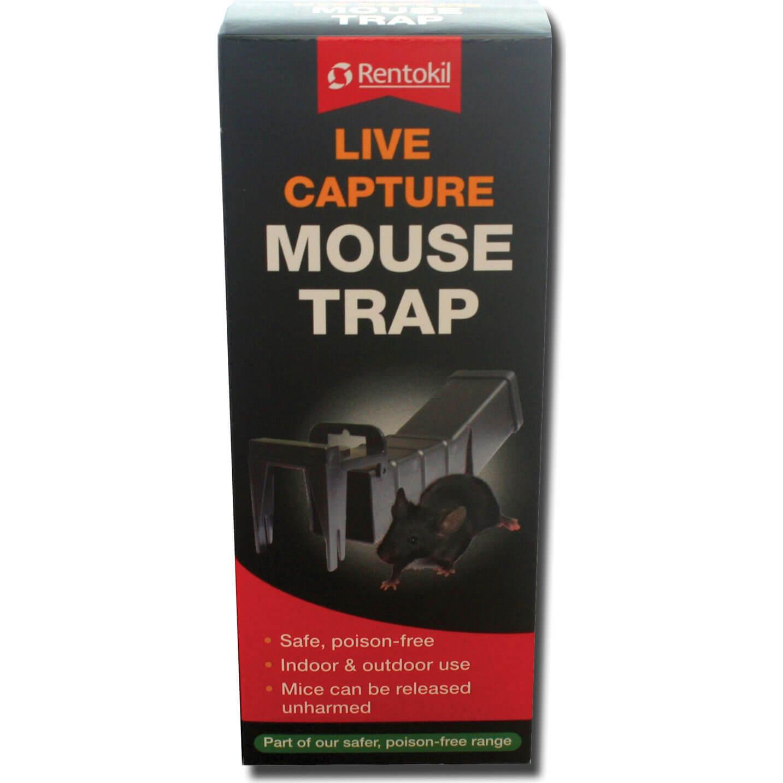 Image of Rentokil Live Capture Mouse Trap