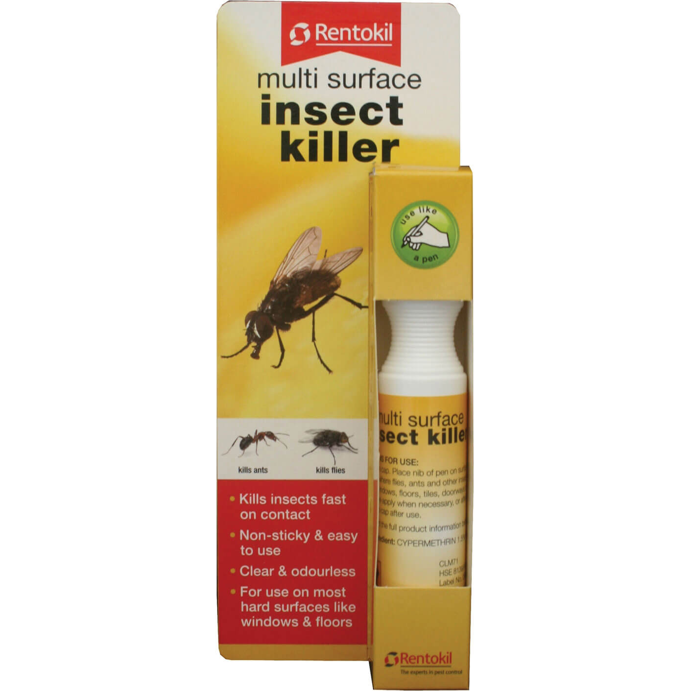 Image of Rentokil Multi Surface Insect Killer Pen