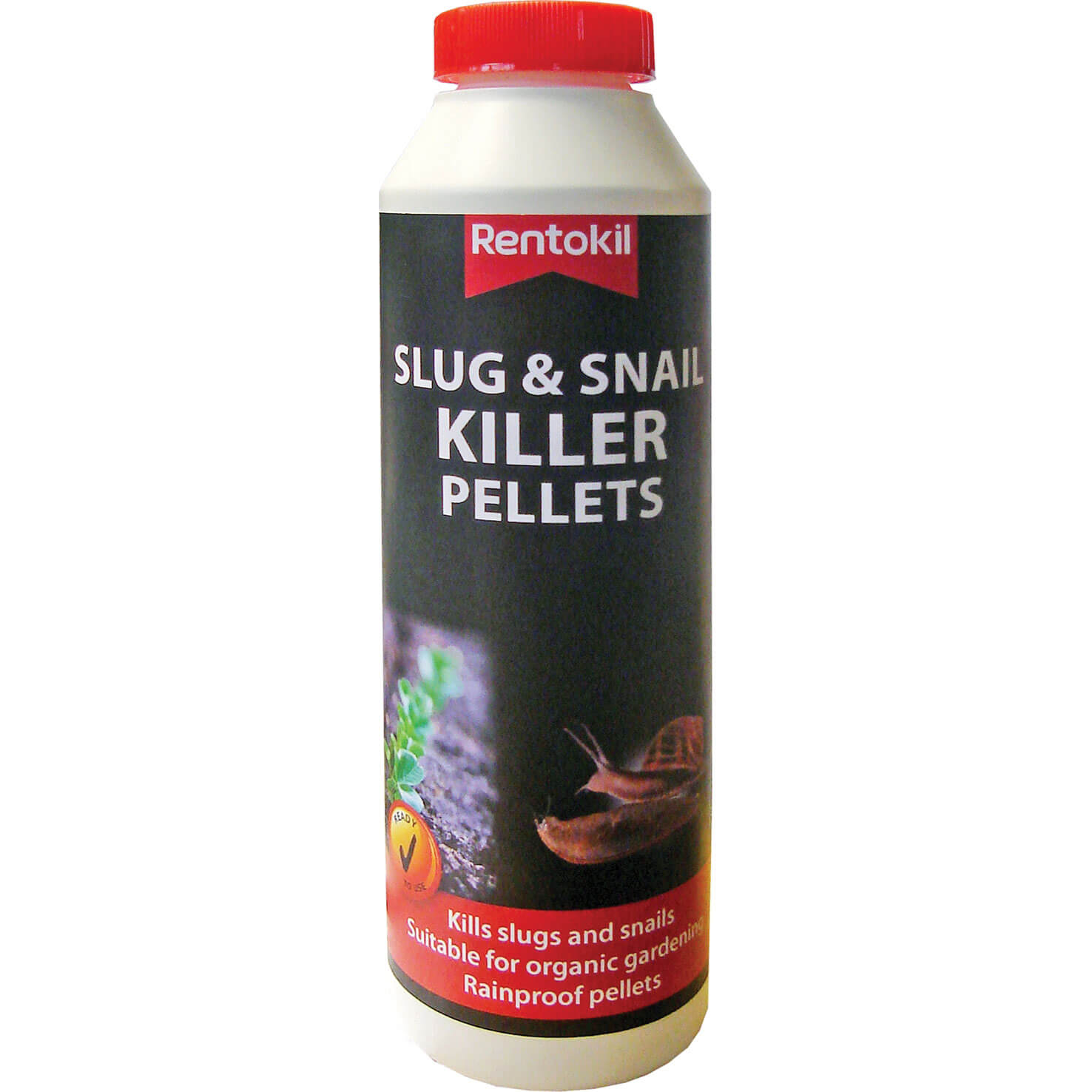 Image of Rentokil Iron Phosphate Slug and Snail Killer Pellets 300g