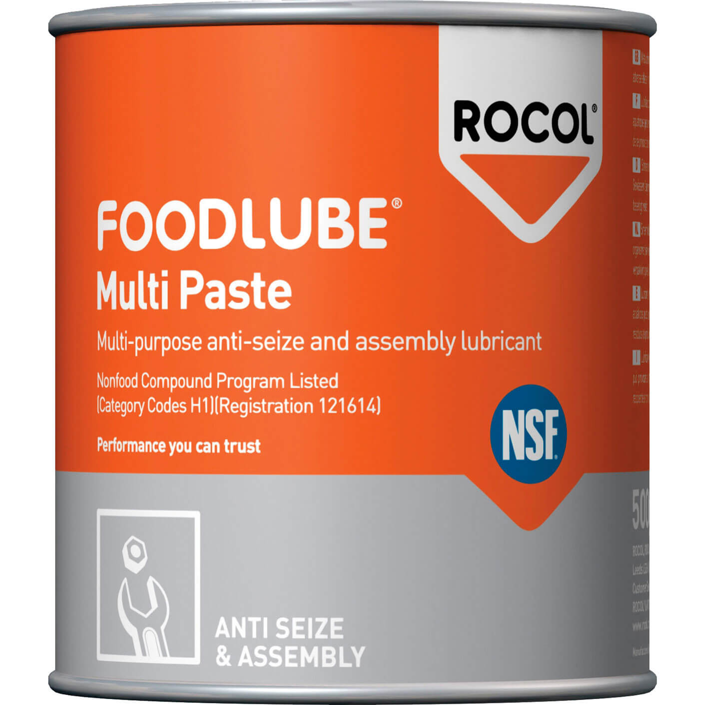 Image of Rocol Foodlube Multi-Paste 500g