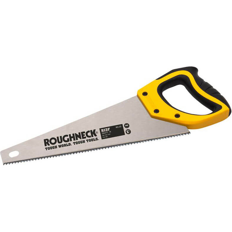 """Roughneck Toolbox Hand Saw 13"""" / 325mm 10tpi"""