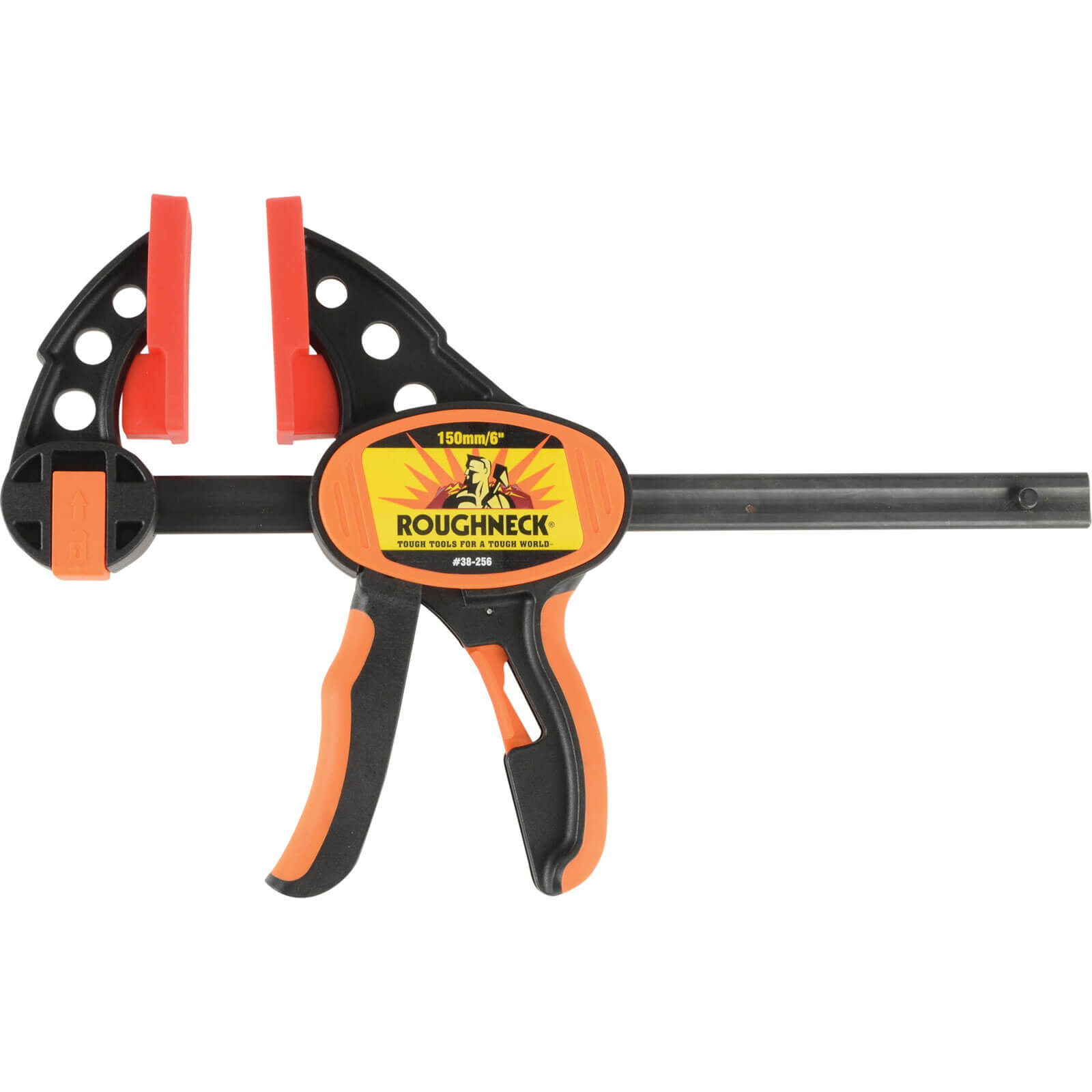Roughneck Ratcheting Quick Grip Clamp Quick Clamps