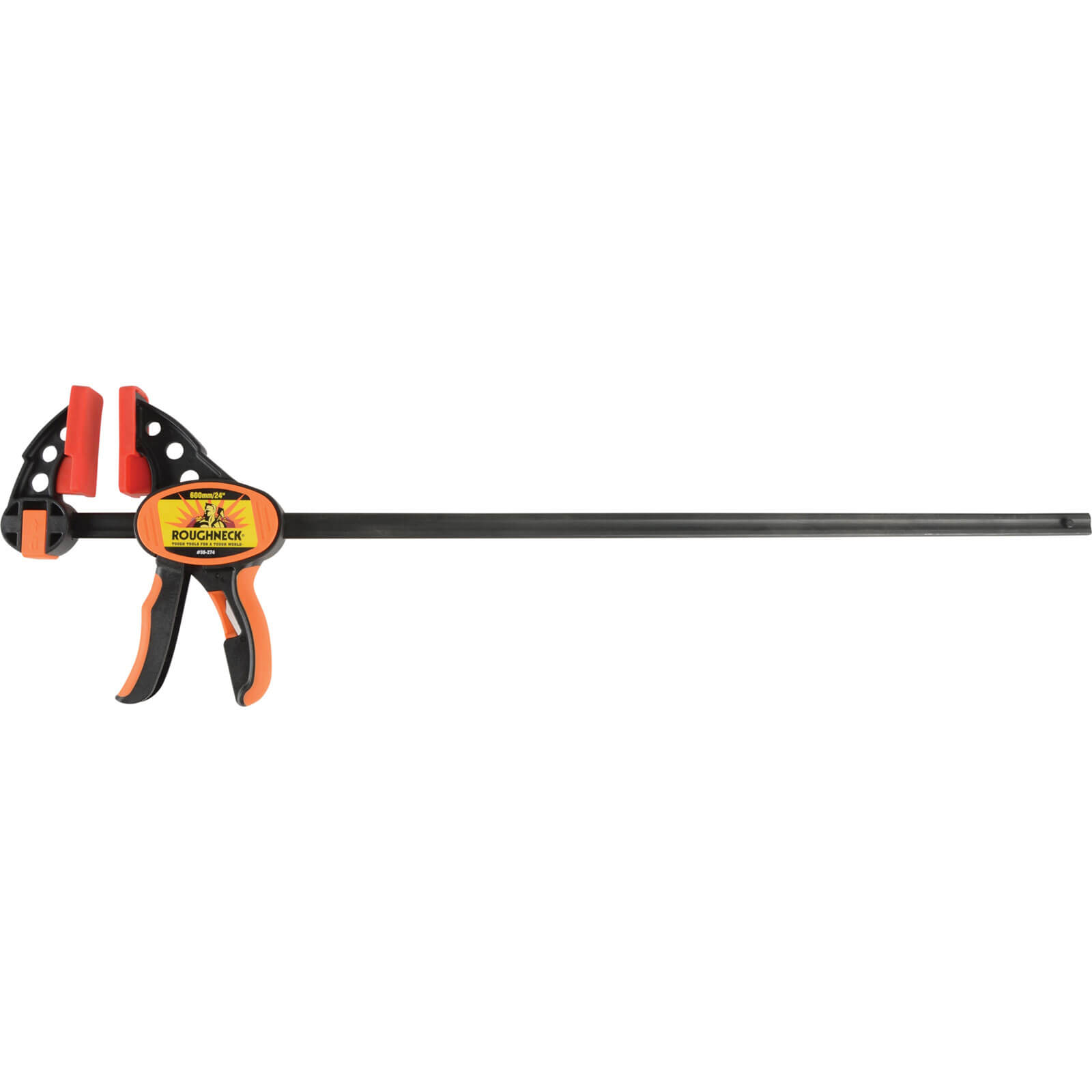 Roughneck Ratcheting Quick Grip Clamp 600mm