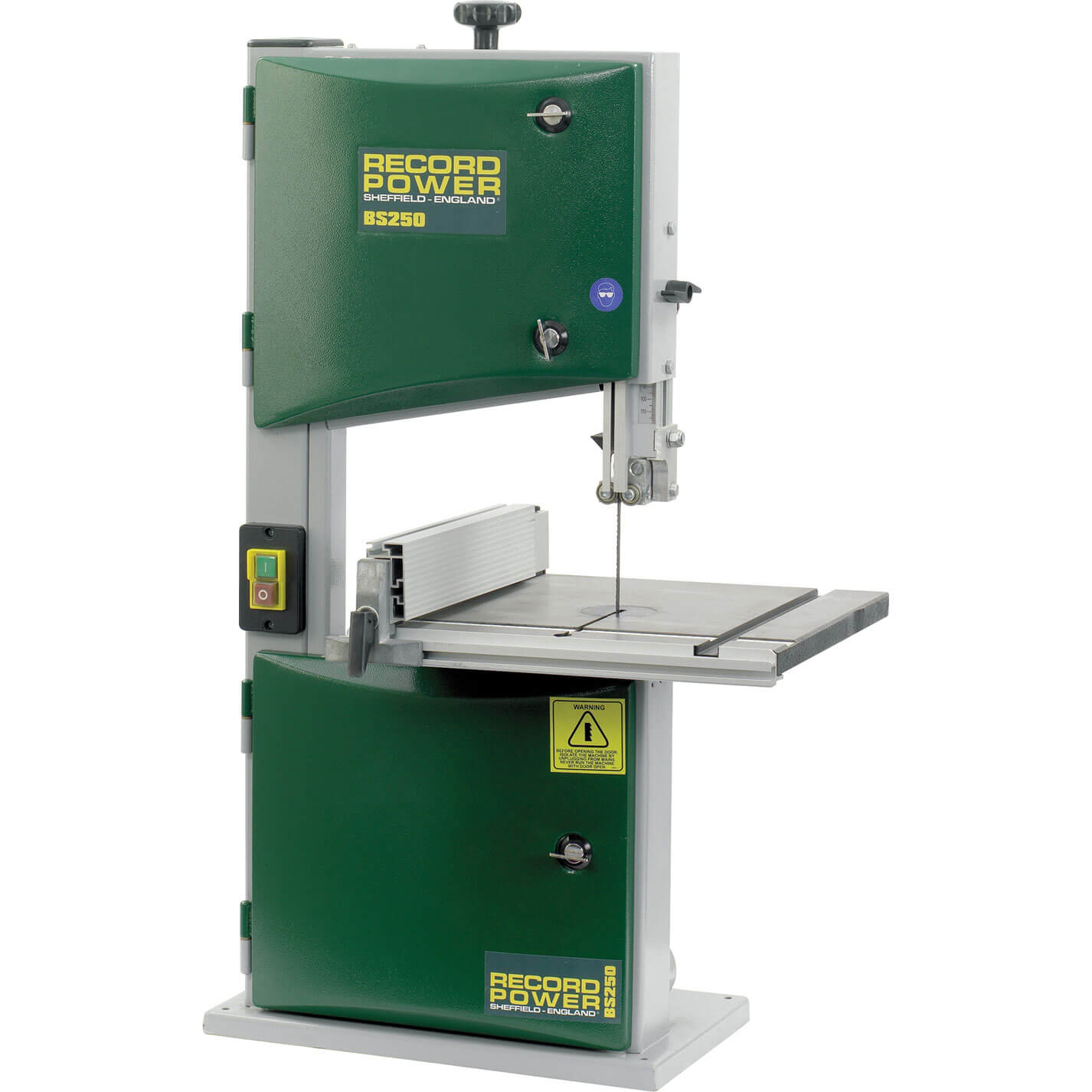 Image of Record Power BS250 Compact Bandsaw 240v