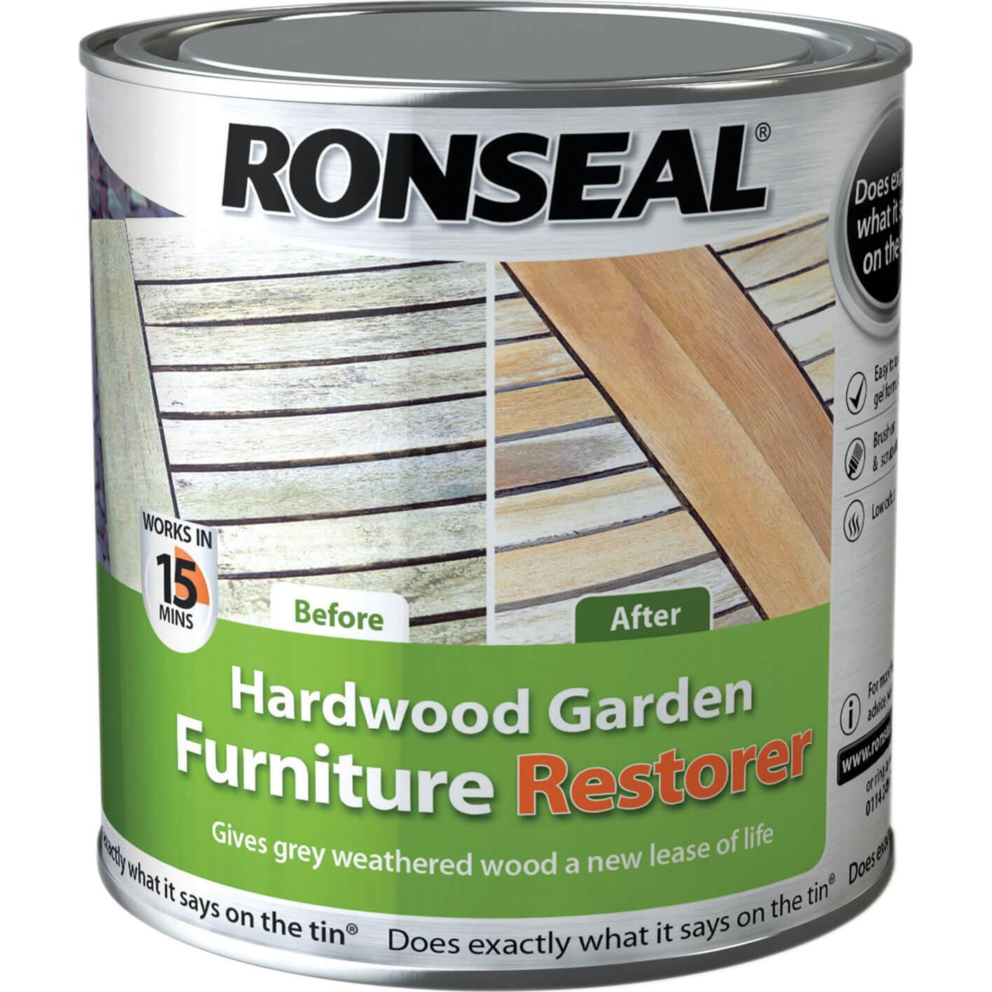 Image of Ronseal Hardwood Garden Furniture Restorer 1l