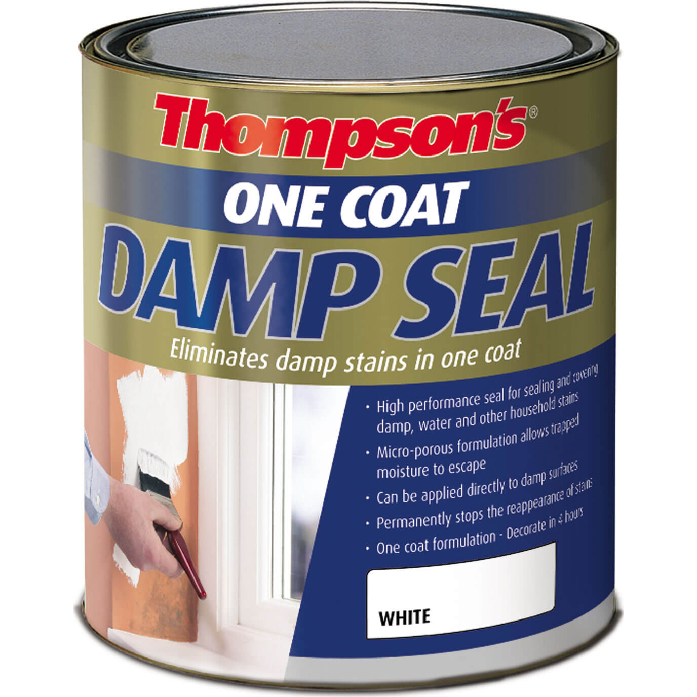 Image of Ronseal One Coat Damp Seal 2.5l