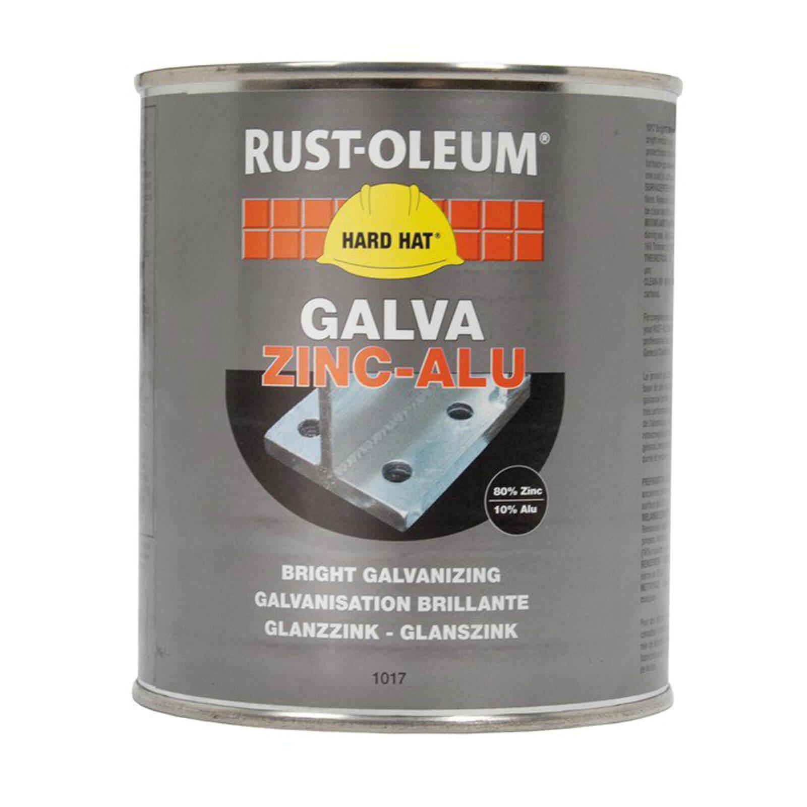 Image of Rust Oleum 1017 Galvanising Zinc Metal Paint 1kg