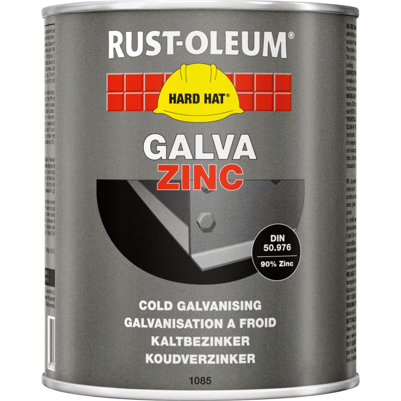 Image of Rust Oleum 1085 Cold Galvanising Zinc Metal Paint 1kg