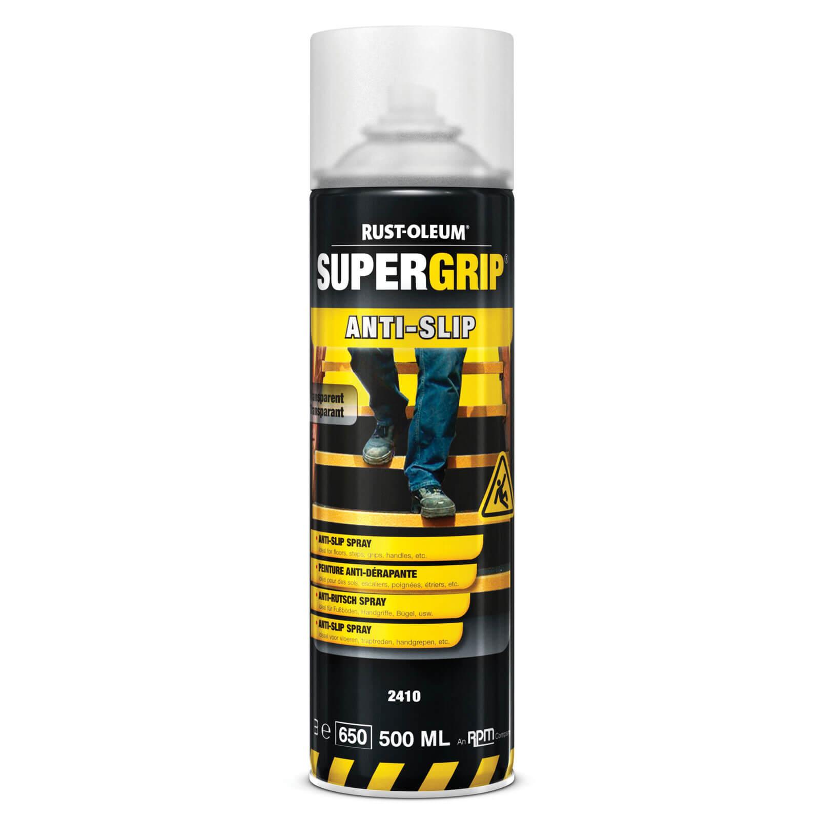 Rust Oleum Hard Hat Anti Slip Aerosol Floor Spray Paint Transparent 500ml