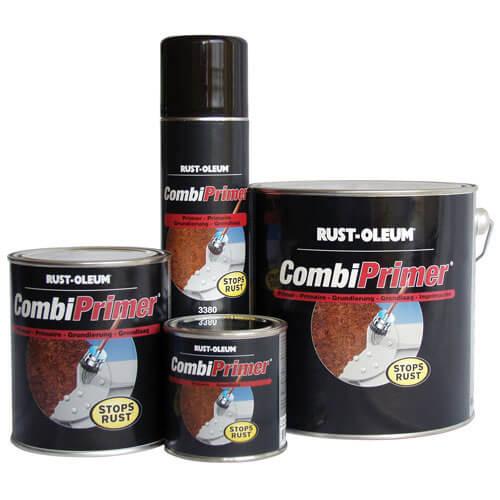 Rust Oleum CombiPrimer Anti Rust Metal Primer Paint Red 750ml