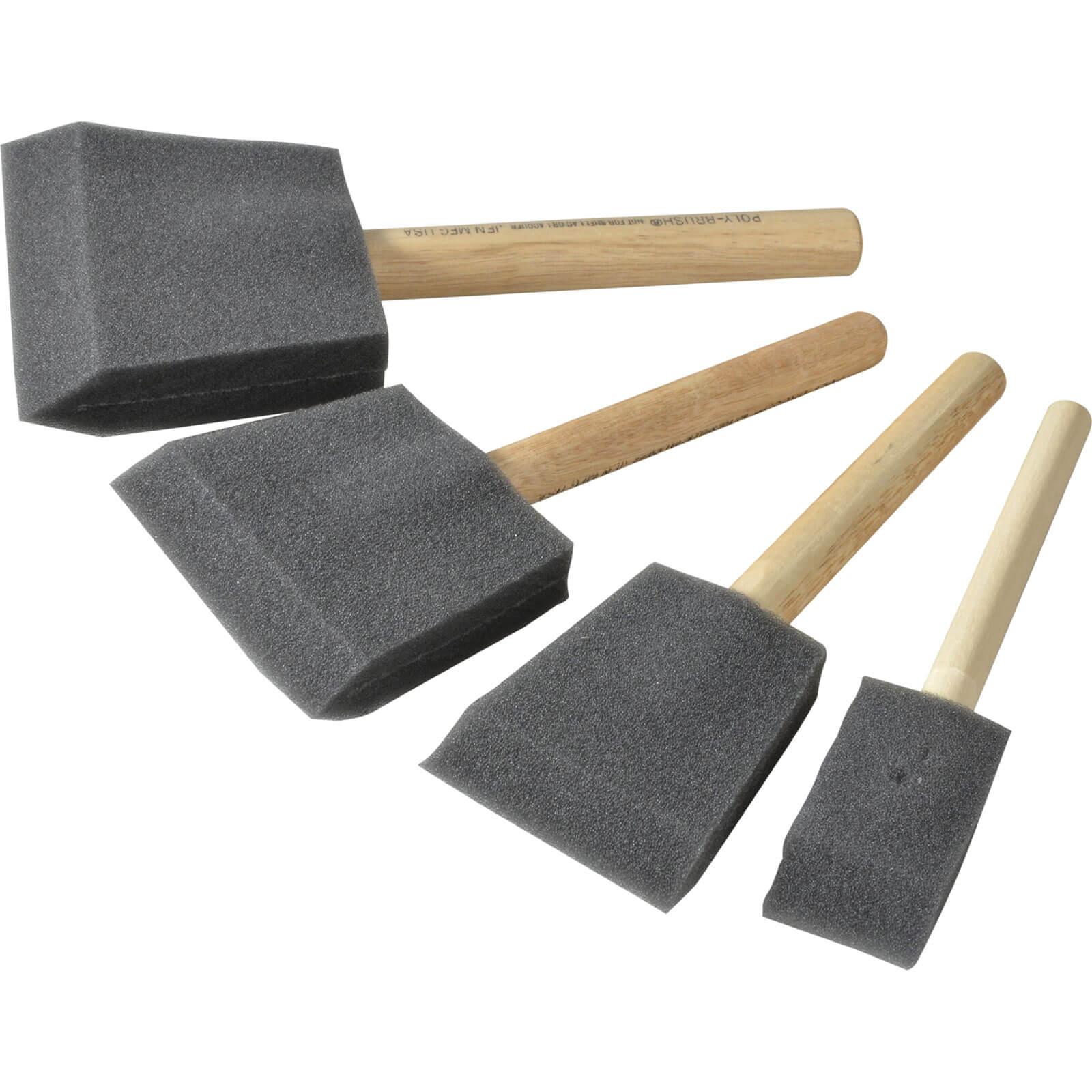 Image of Rustins 4 Piece Foam Brush Set