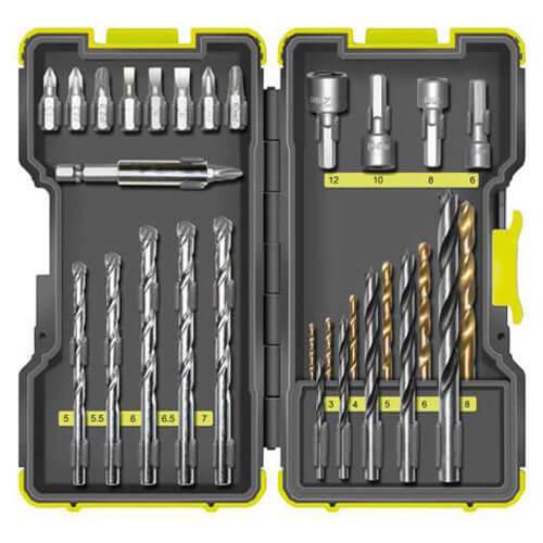 Image of Ryobi 30 Piece Drill & Screwdriver Bit Set