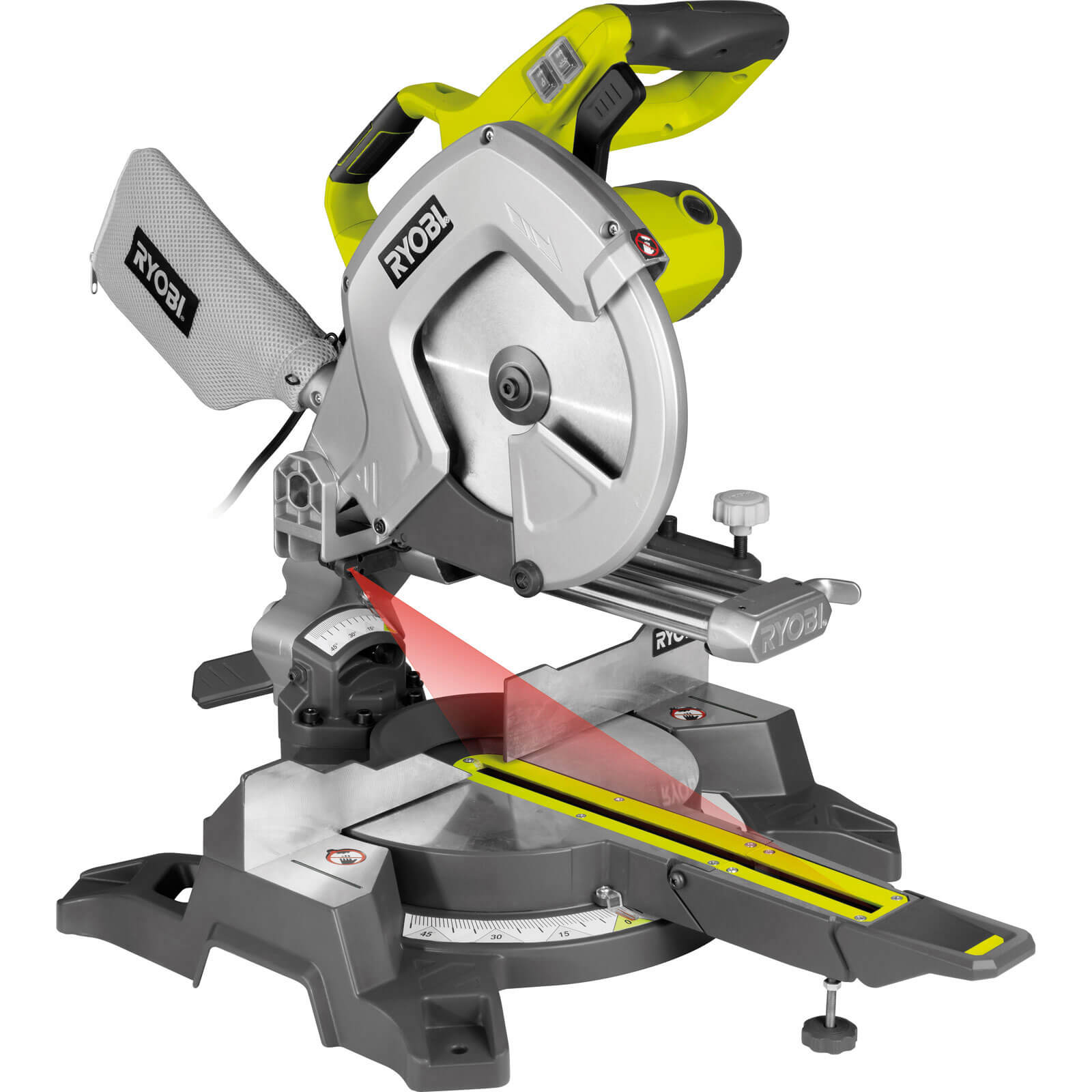 Ryobi mitre saw shop for cheap power tools and save online for Troncatrice parkside