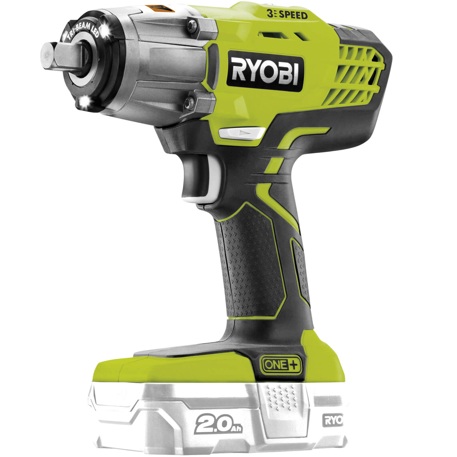 ryobi 5133002436 r18iw3 0 one 18v 3 speed impact wrench. Black Bedroom Furniture Sets. Home Design Ideas