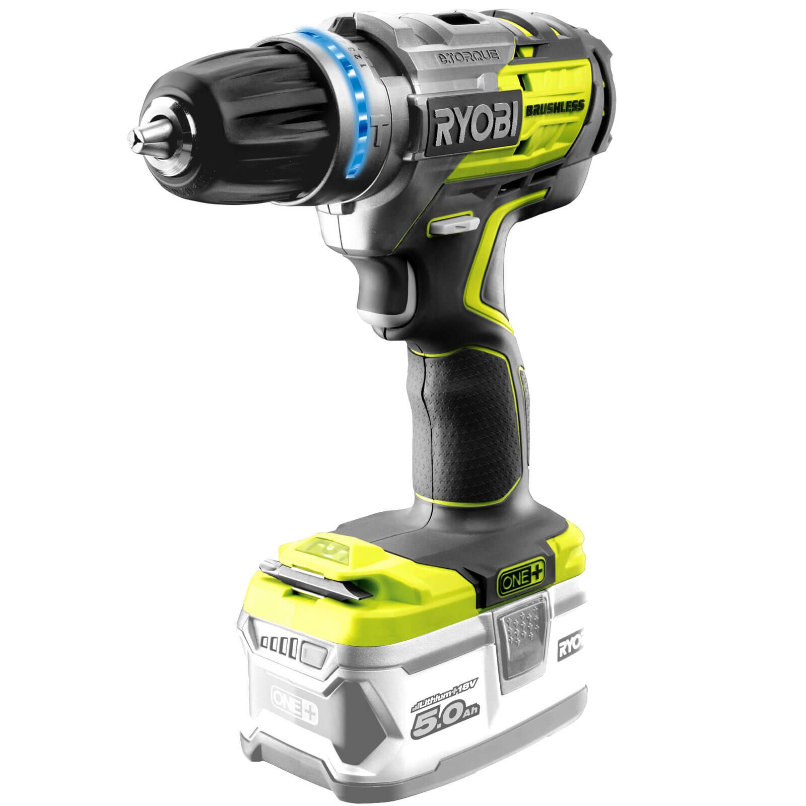 ryobi r18pdbl one 18v cordless brushless combi drill no. Black Bedroom Furniture Sets. Home Design Ideas