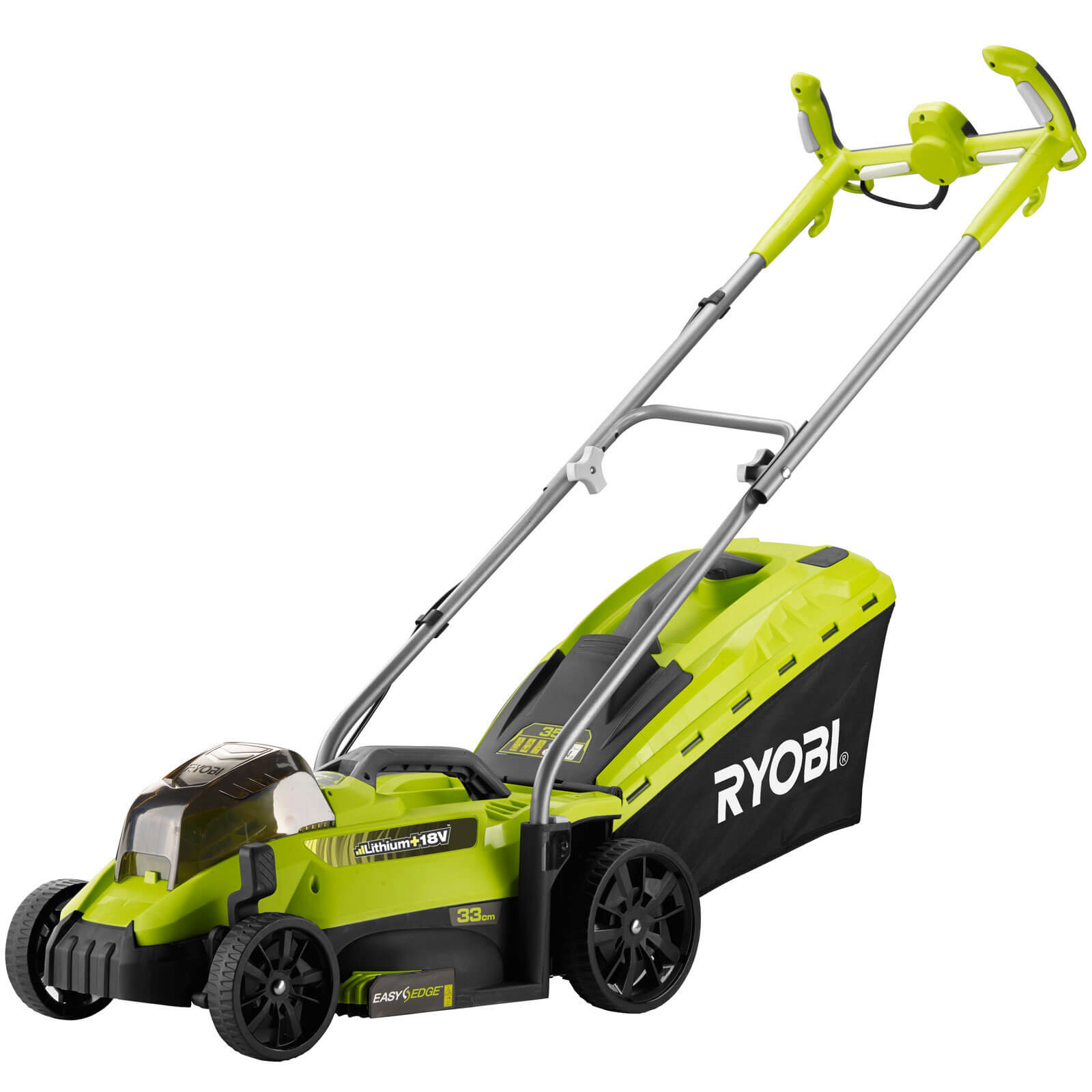 Image of Ryobi OLM1833H ONE+ 18v Cordless Rotary Lawnmower 330mm No Batteries No Charger