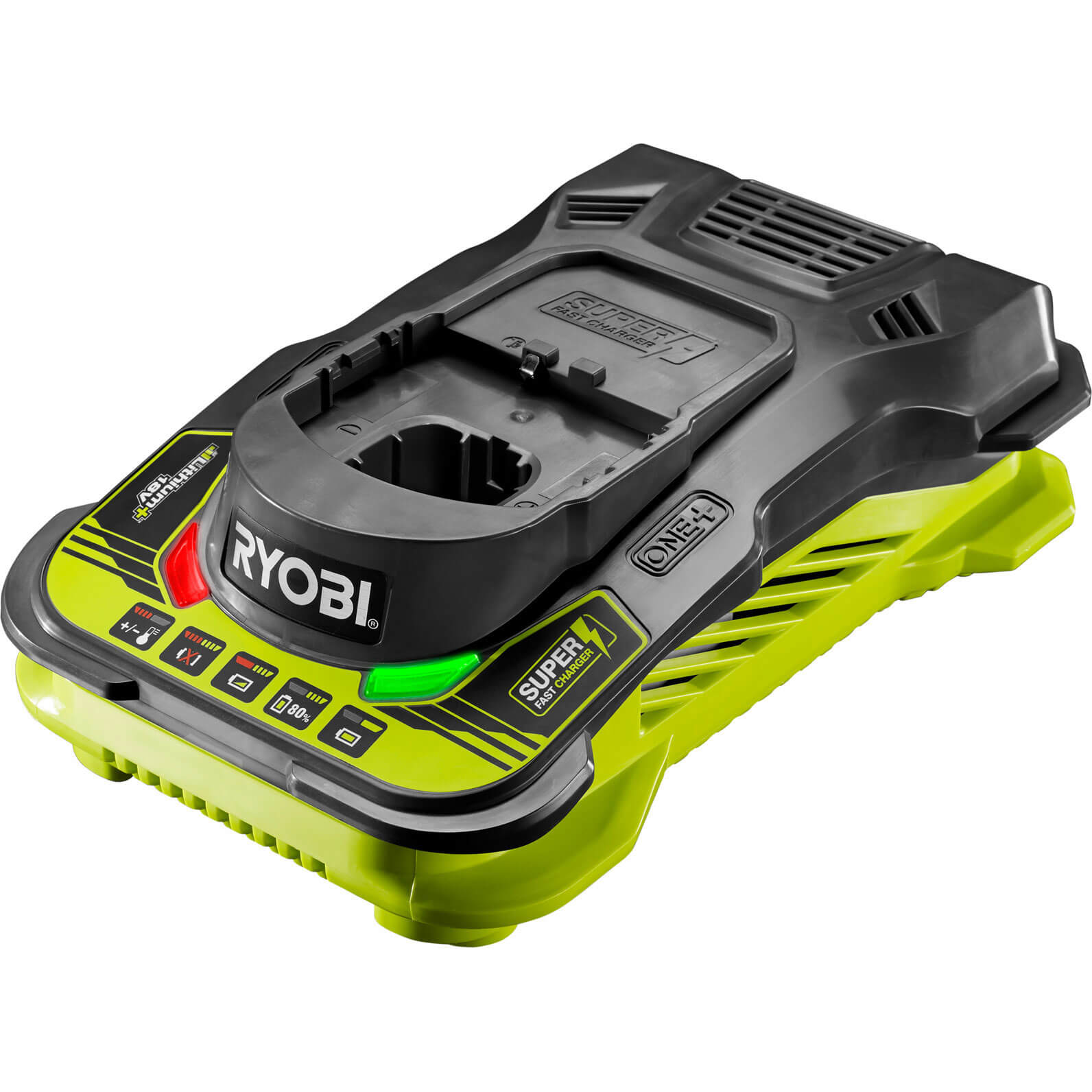 ryobi rc18150 one 18v cordless fast li ion battery charger. Black Bedroom Furniture Sets. Home Design Ideas