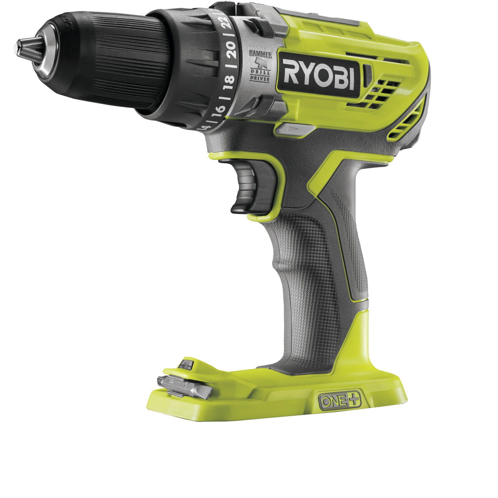ryobi r18pd3 one 18v cordless compact combi drill no. Black Bedroom Furniture Sets. Home Design Ideas