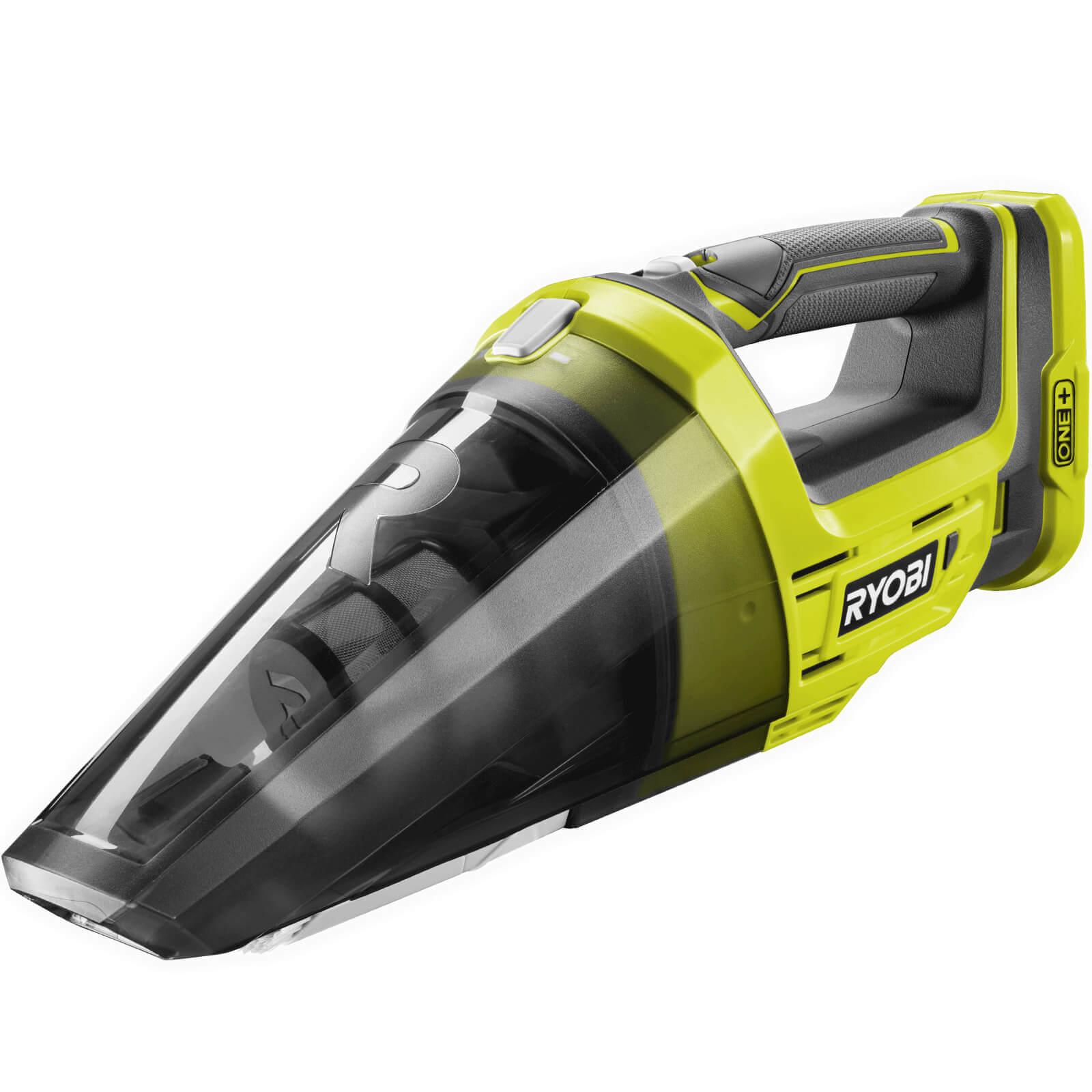 Ryobi R18hv One 18v Cordless Handheld Vacuum Cleaner
