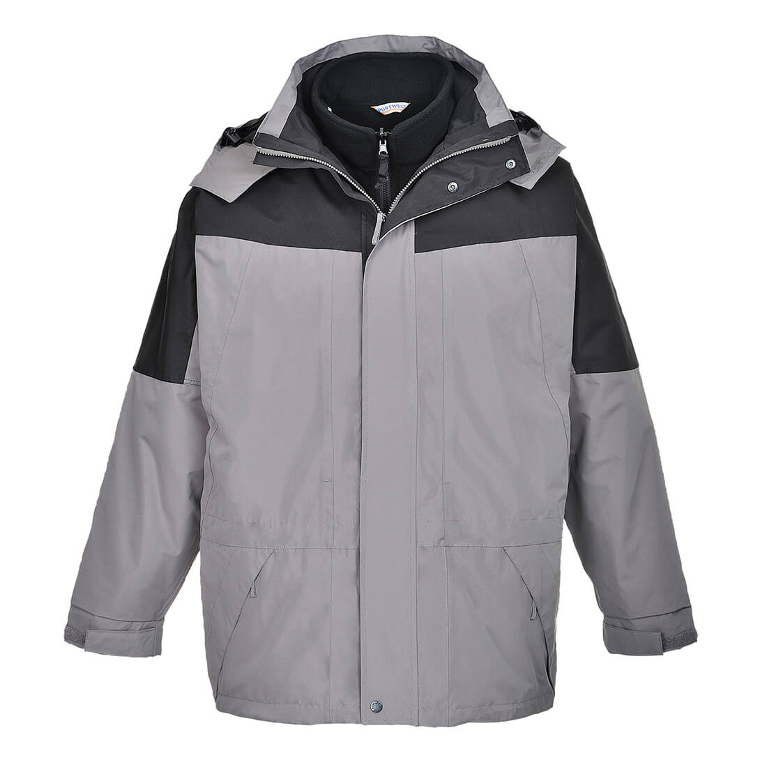 Image of Aviemore Mens 3-in-1 Waterproof Jacket Grey 2XL