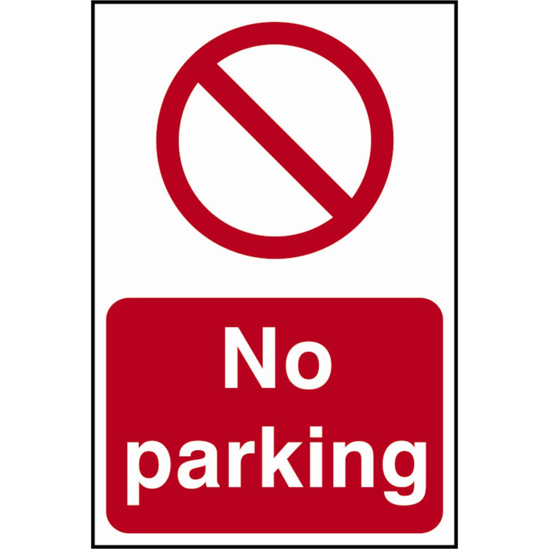 Image of Scan No Parking Sign 200mm 300mm Standard