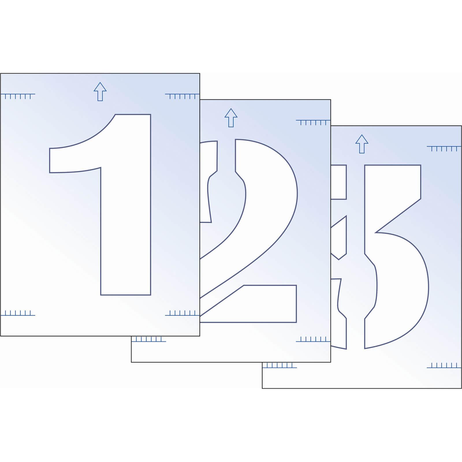 Image of Scan Number Stencil Kit 300mm