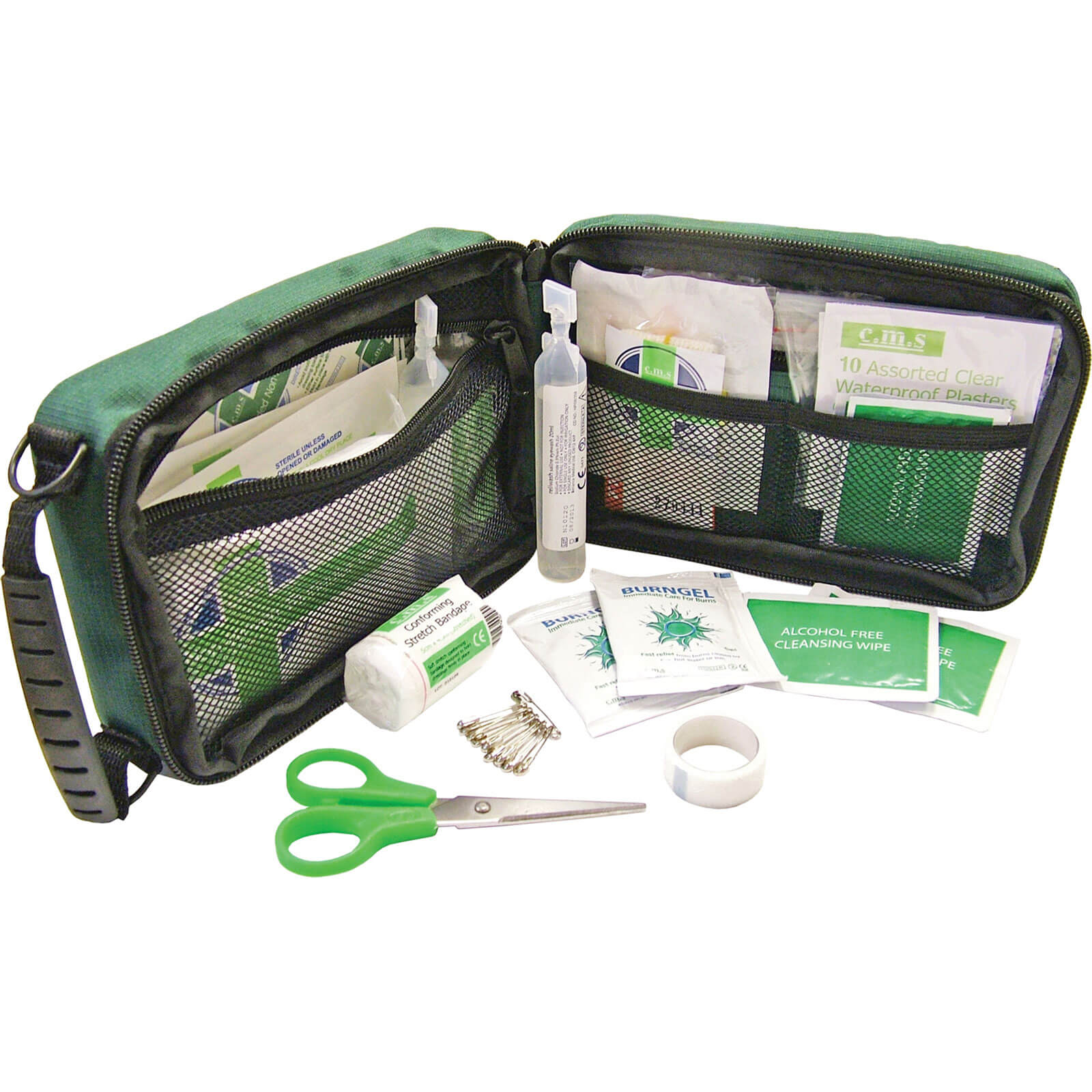 Image of Scan 45 Piece Household and Burns First Aid Kit