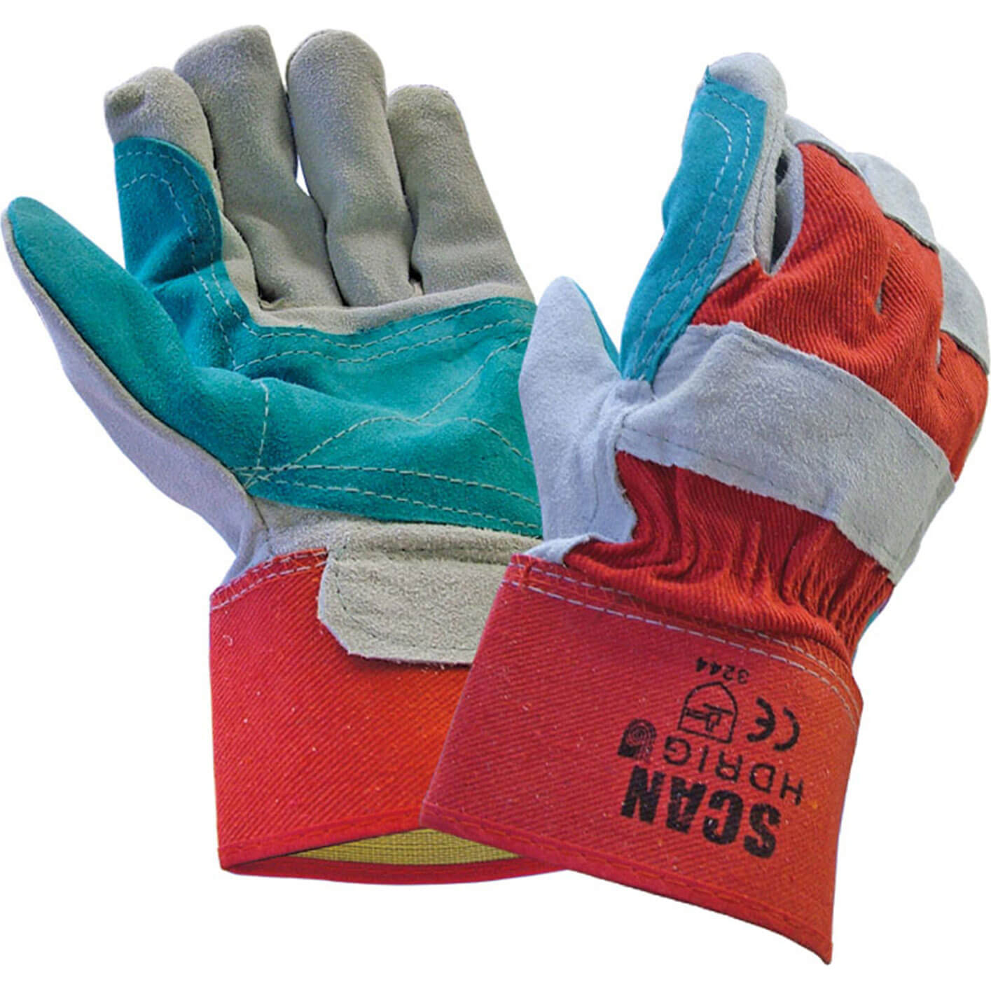 Image of Scan Heavy Duty Rigger Gloves One Size